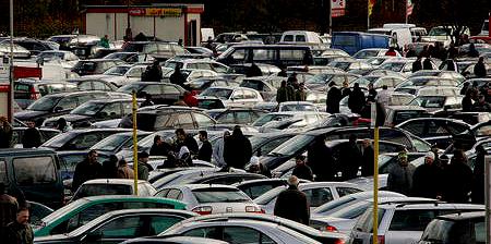Продажа авто на автобазаре